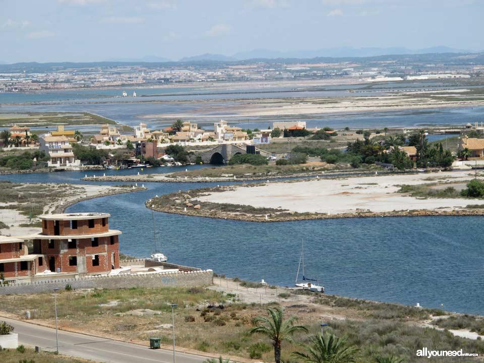 Golas de Veneziola in la Manga del Mar Menor