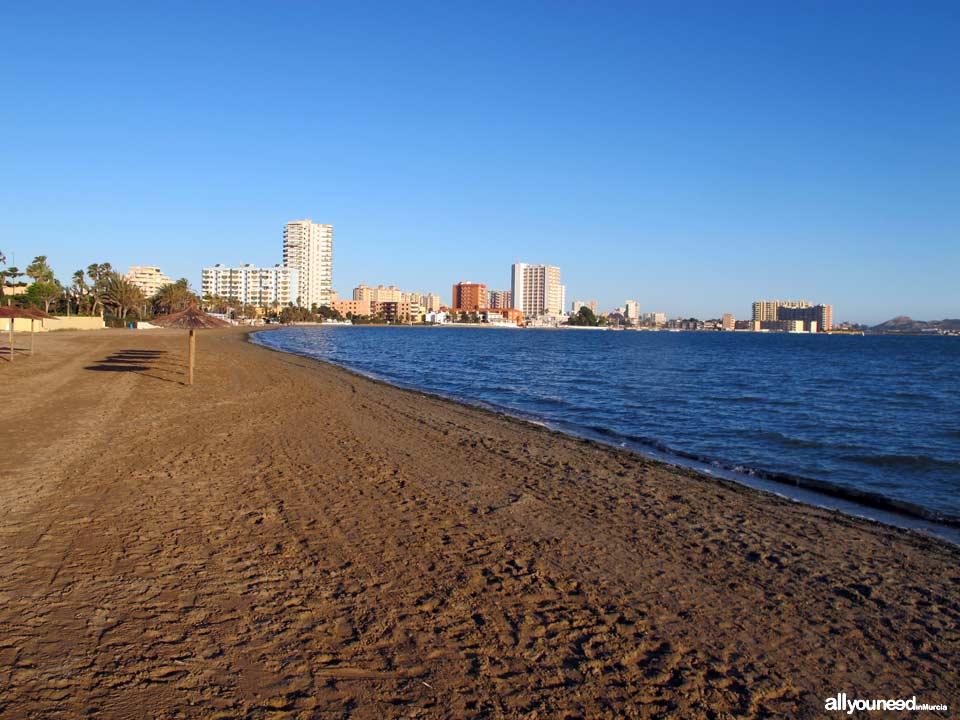 Playa Cavanna. La Manga