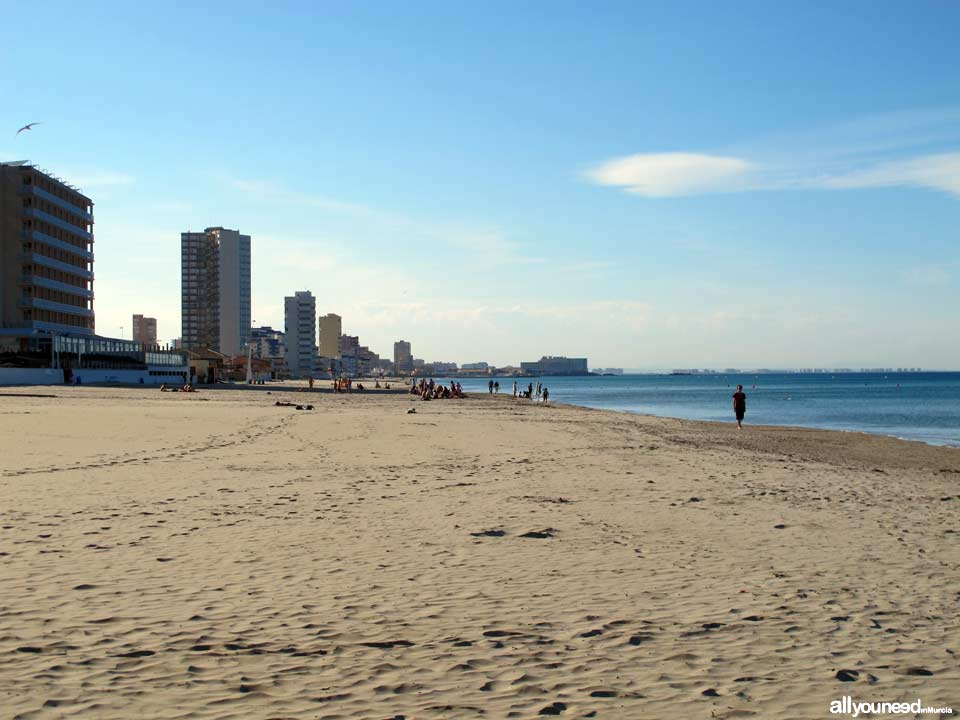 Playa del Barco Perdido La Manga-Murcia