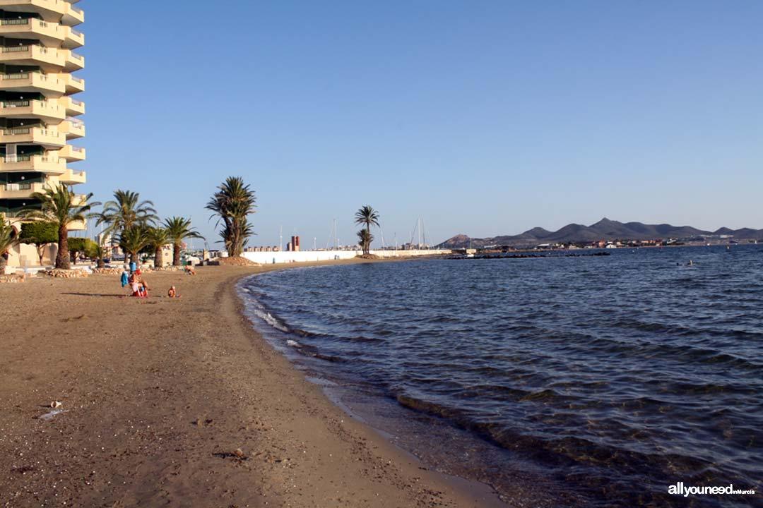 Playa la Gola de Marchamalo