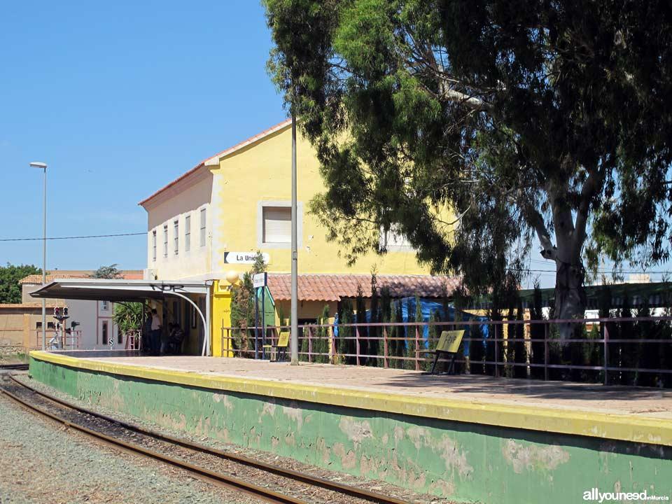 Estación de Tren Renfe. La Unión