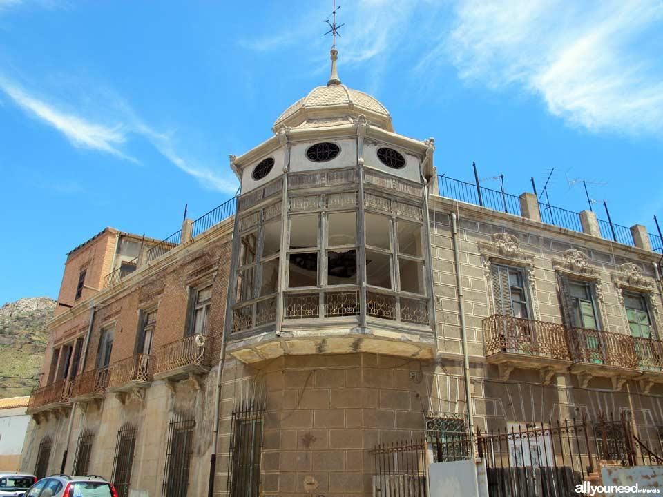 Casa Miguel Sáez Tío Lobo en Portman de La Unión