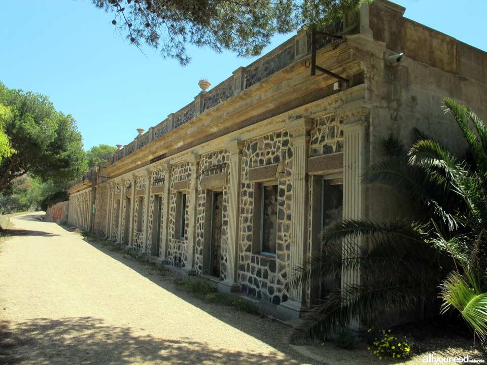 Batería de Cañones de Costa en Portmán
