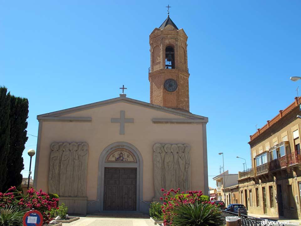 Iglesia de  Los Dolores El Garbanzal de La Unión