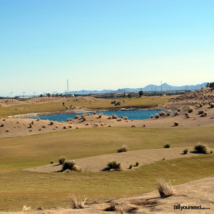 Las Terrazas de la Torre en Murcia. España . Campo de golf