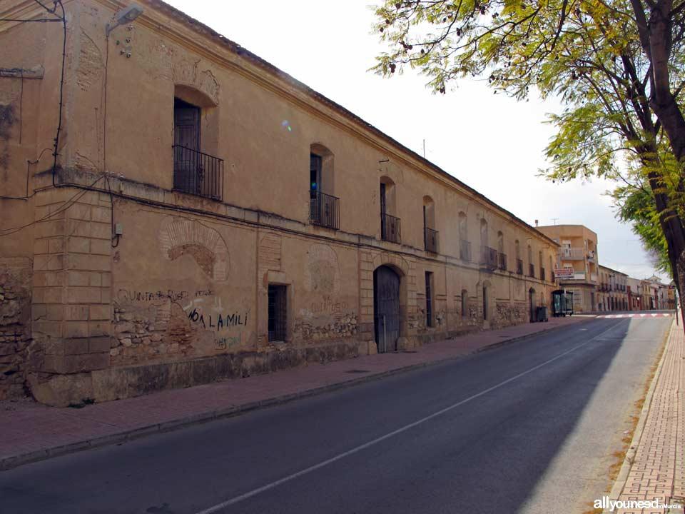 Casa de Postas del Duque de Alba de Librilla