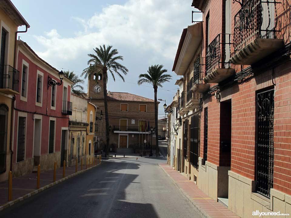Calle Luis Melendreras de Librilla