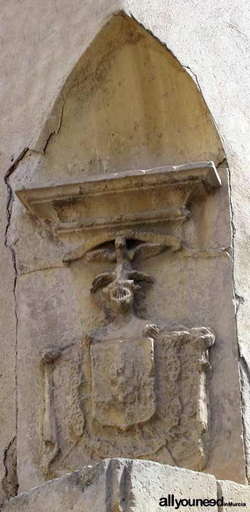 Casa del Postas del Duque de Alba. Escudo Nobiliario del Marqués de Villafranca