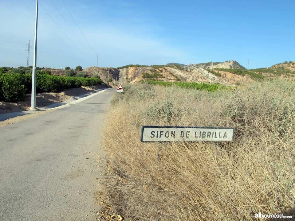 Ruta Barranco del Infierno. Senderismo en Librilla. Sifón de Librilla