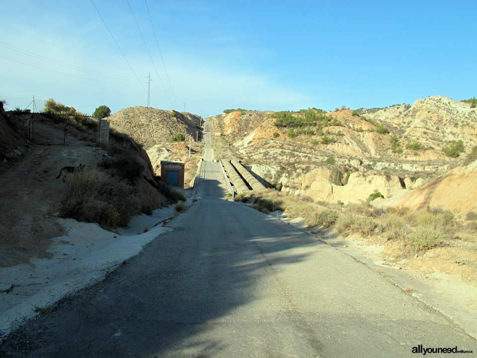 Barranco del Infierno Route. Diversion Road