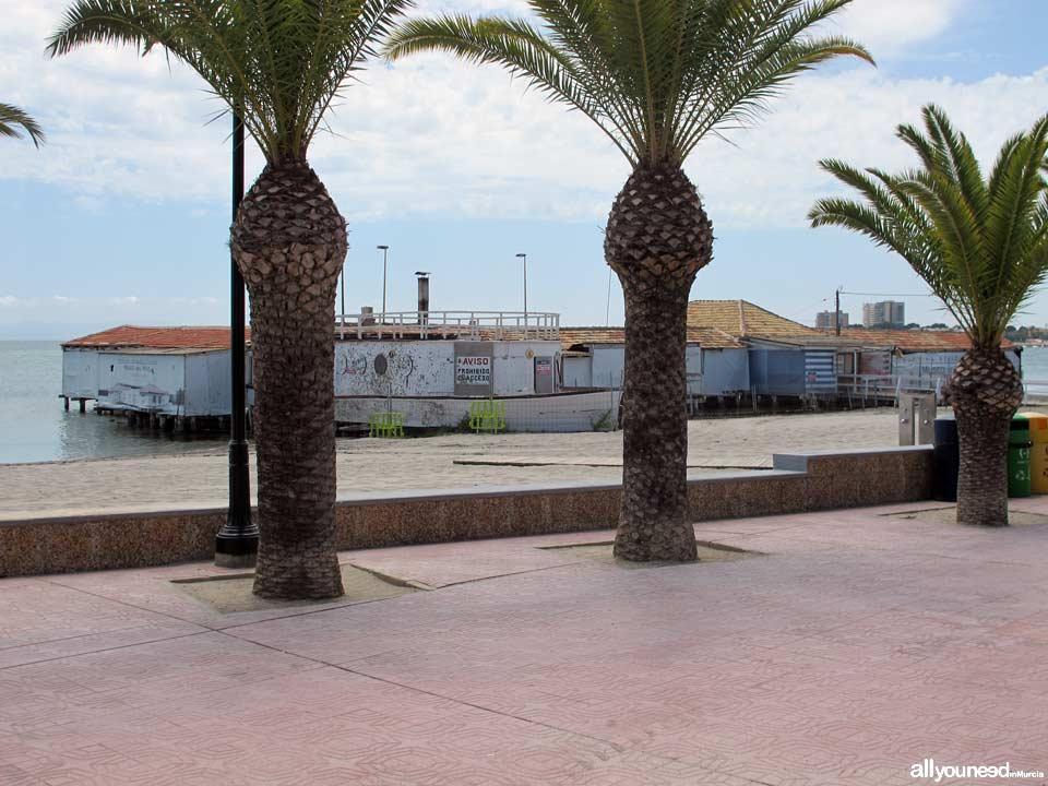 Antiguo Balneario De Lo Pagan en la actualidad