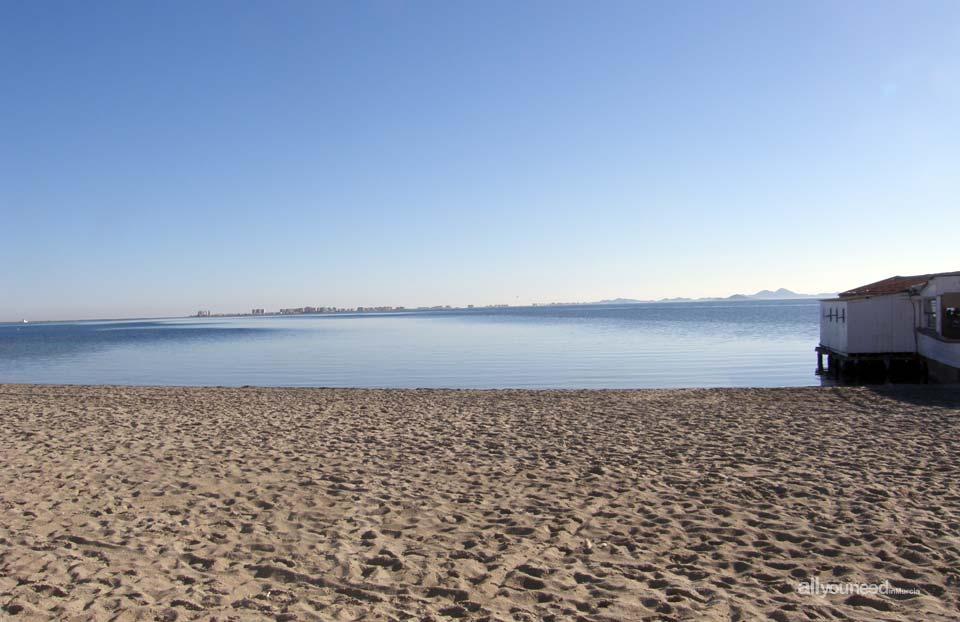 Lo Pagán Beach - La Puntica-