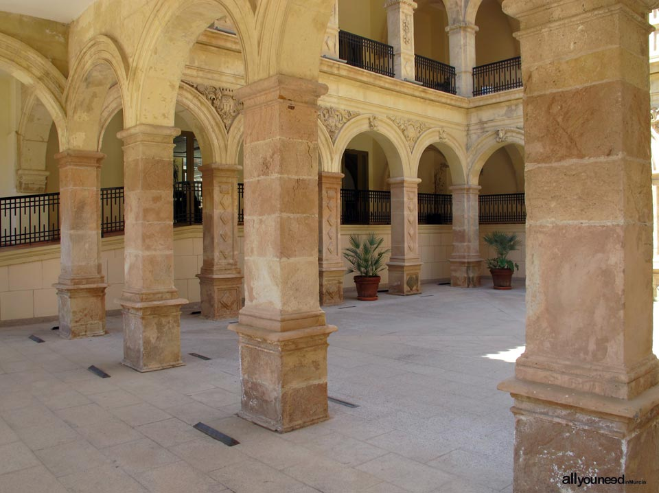 Cloister of the Convent of La Merced