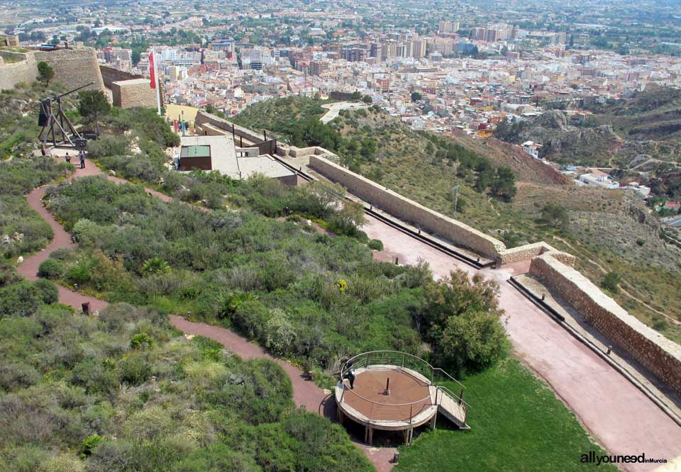 Castillo de Lorca. La Fortaleza del Sol. Castillos de España.