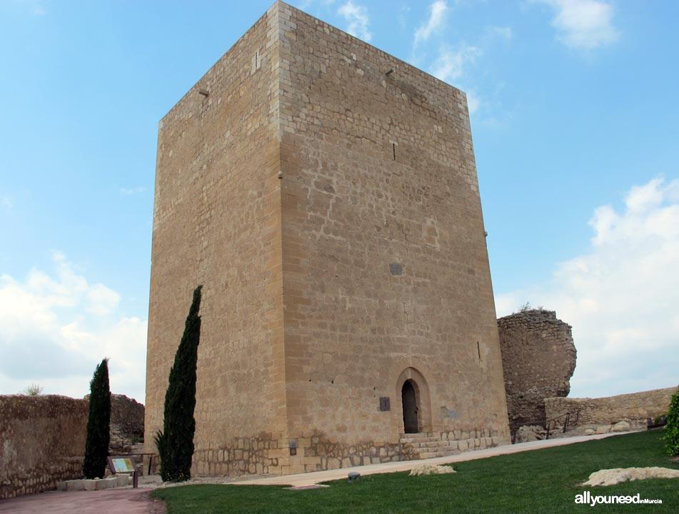 La Torre del Espolón. Castillo de Lorca. La Fortaleza del Sol. Castillos de España.
