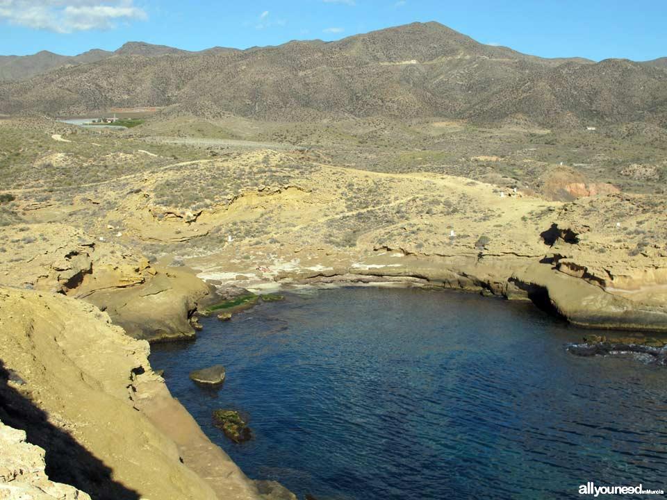 Cala Blanca. Alrededores. Playas de Lorca