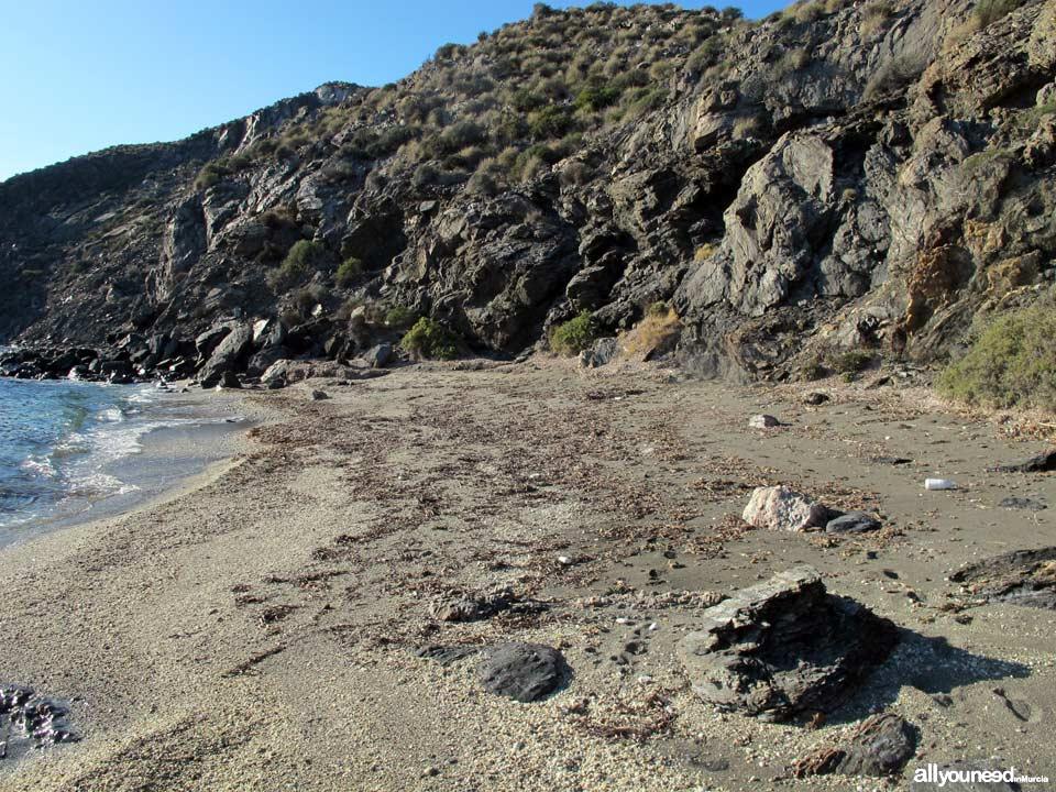 Cala del Siscal. Playas de Lorca