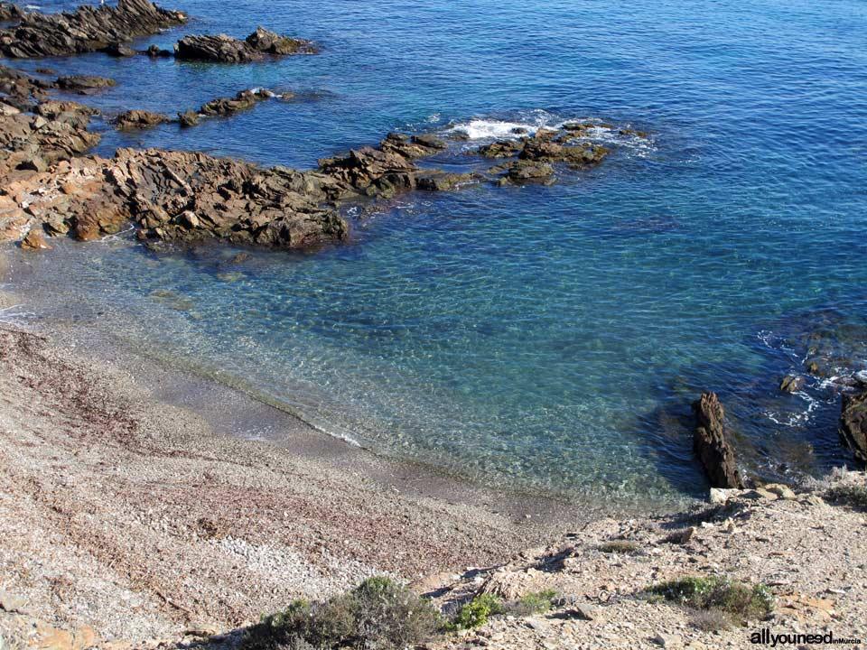 Cala Leña. Alrededores. Playas de Lorca