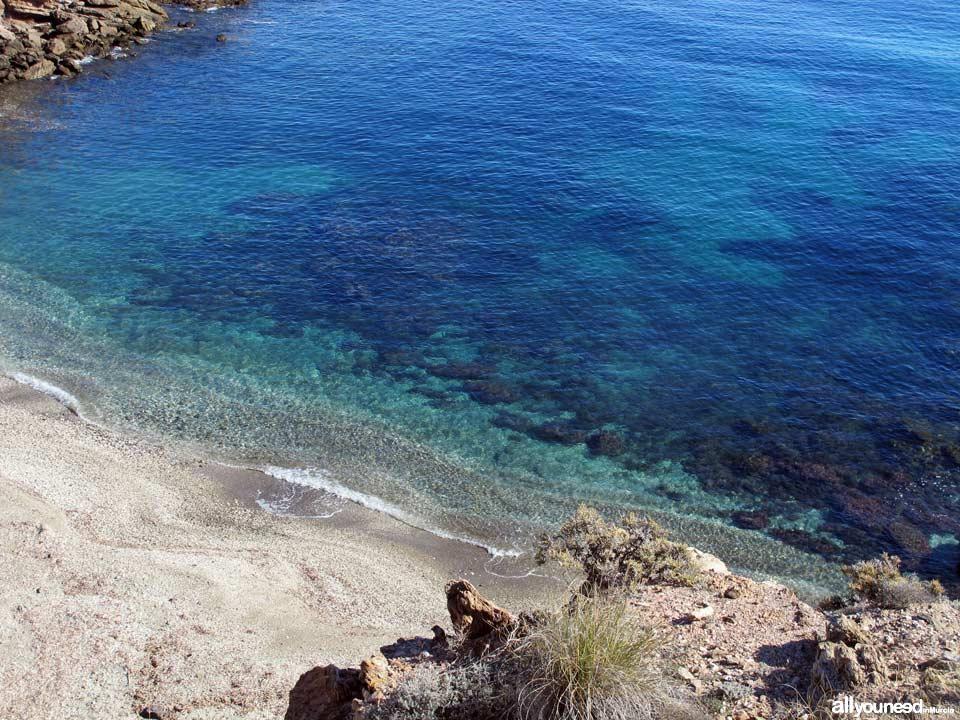 Cala Leña. Playas de Lorca