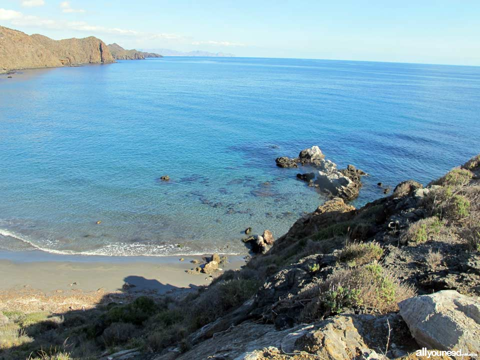 Playa Baja Mar - Cala del Ciscar. Playas de Lorca
