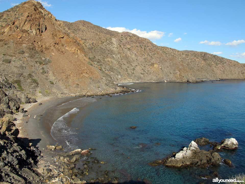 Playa Baja Mar - Cala del Ciscar. Playas de Lorca