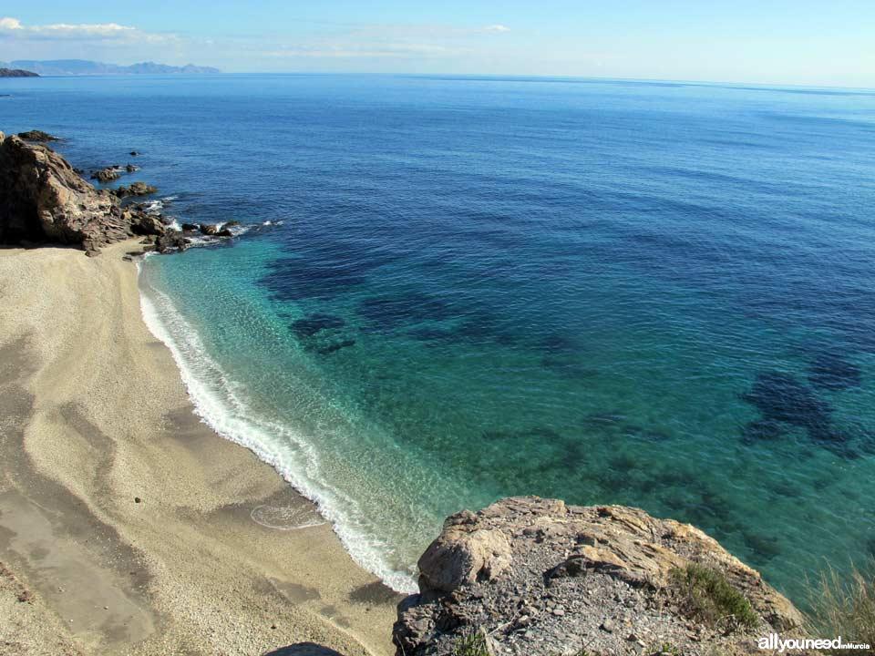 Playa Junquera. Playas de Lorca