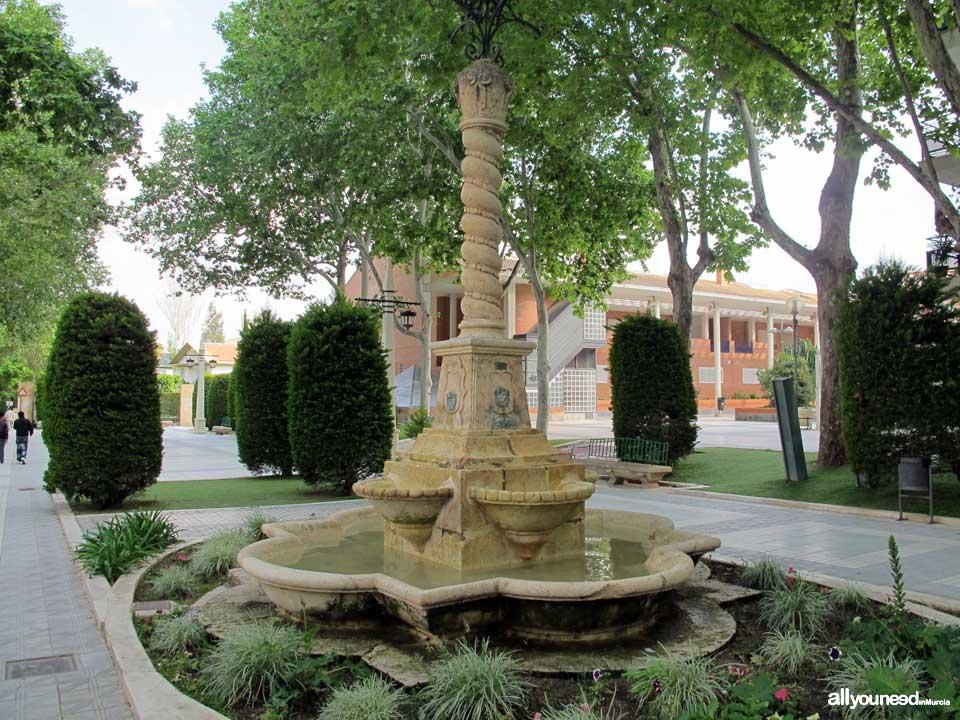 Calles de Lorca. Alamedas de Lorca