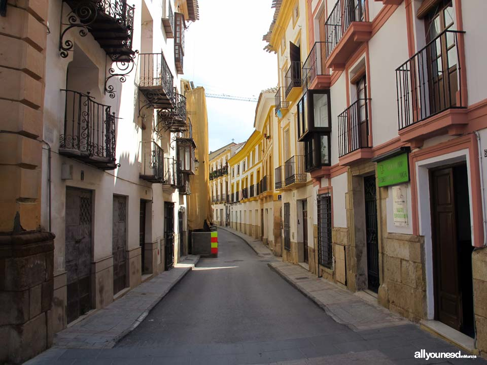 Calles de Lorca. Calle Cava