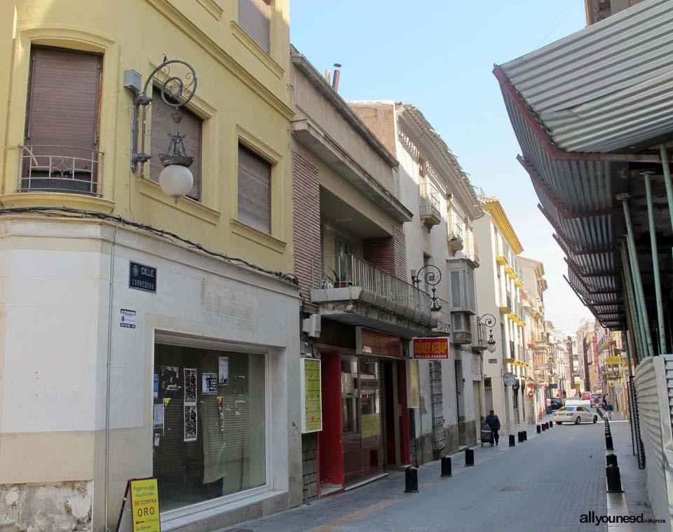 Calles de Lorca. Calle de Corredera