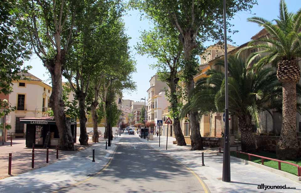 Calles de Lorca. Calle de Santo Domingo