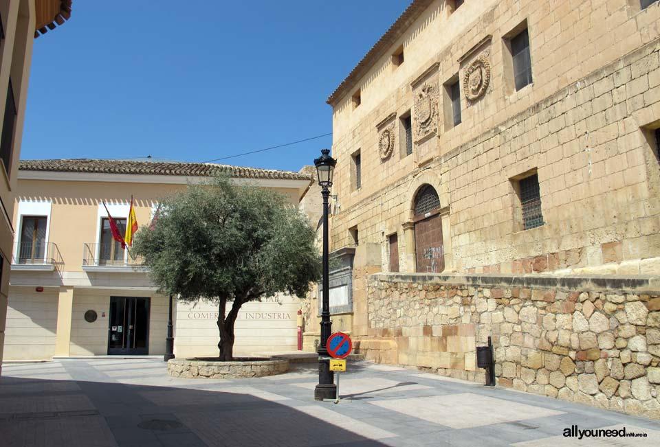 Calles de Lorca. PLaza del Caño
