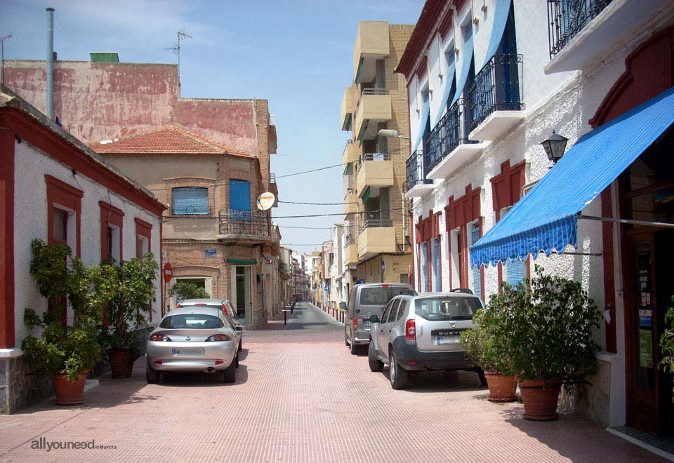 Calle de la Condesa. Los Alcázares