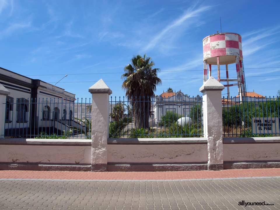 Base aérea. Los Alcázares