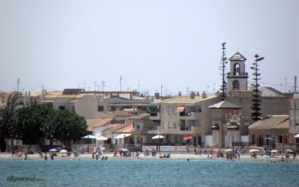 Playa del Espejo. Los Alcázares
