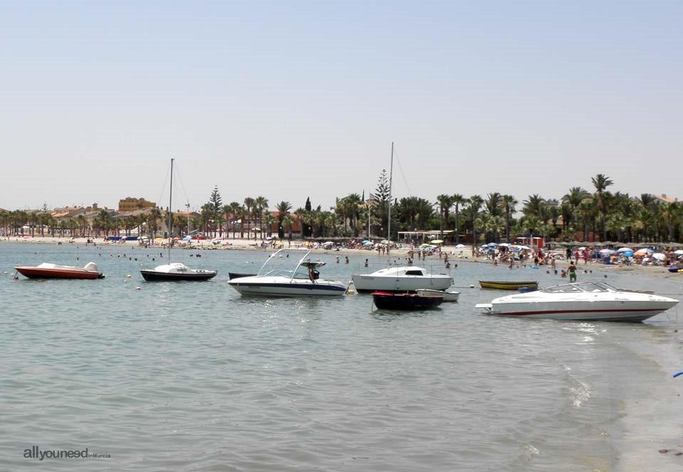 Playa de los Narejos. Los Alcázares
