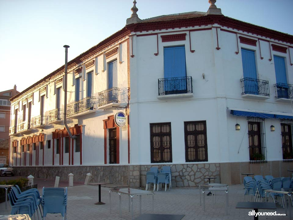 Pensión Balneario La Encarnación en Los Alcázares