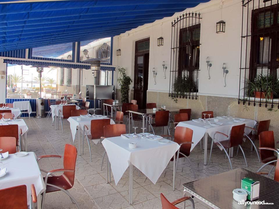 Restaurante Balneario La Encarnación en los Alcázares -Murcia-