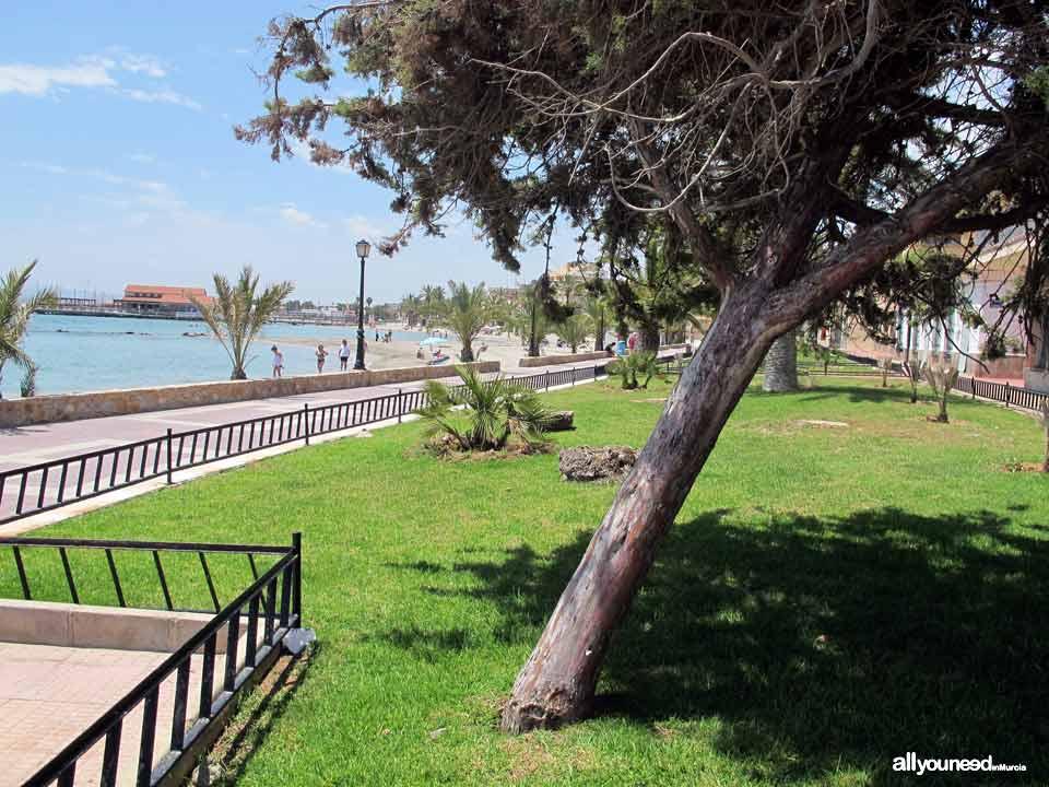 Manzanares Beach in los Alcázares