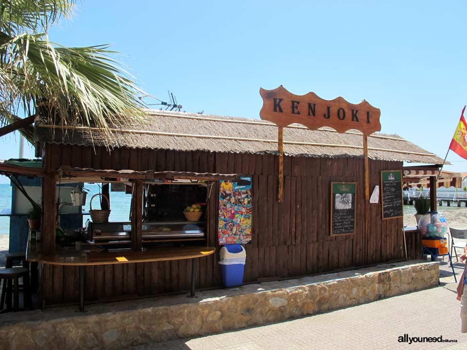 Chiringuito playa Manzanares en los Alcázares