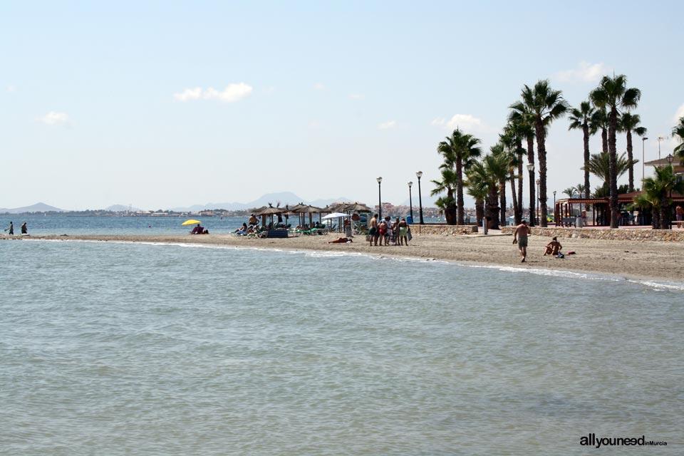 Playa de Las Salinas. Los Alcazares