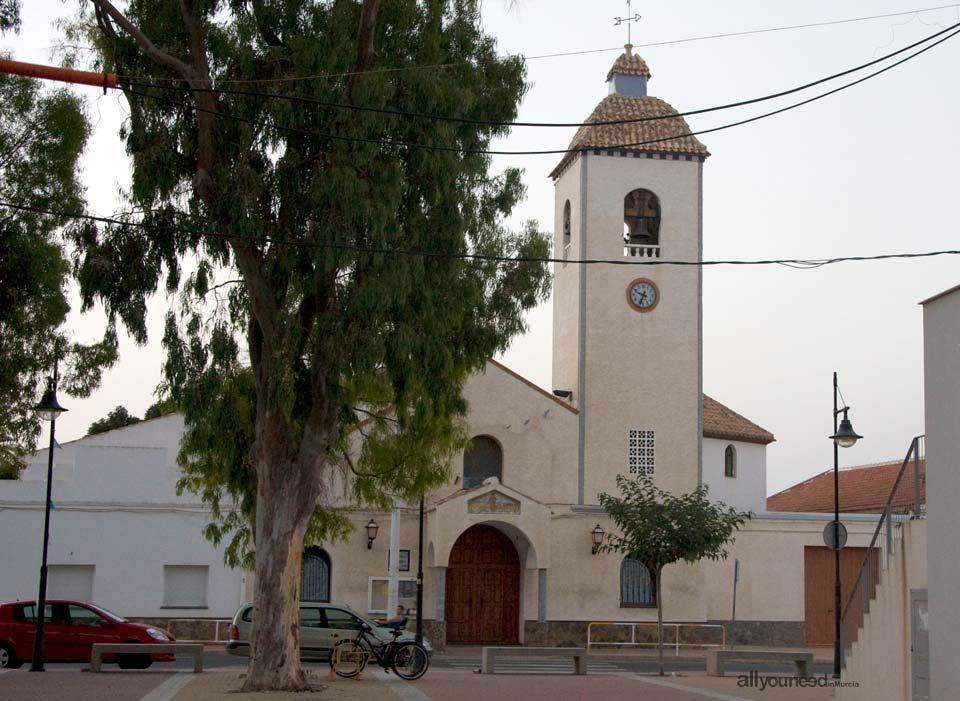 Parroquia de San Isidro Labrador. Los Belones