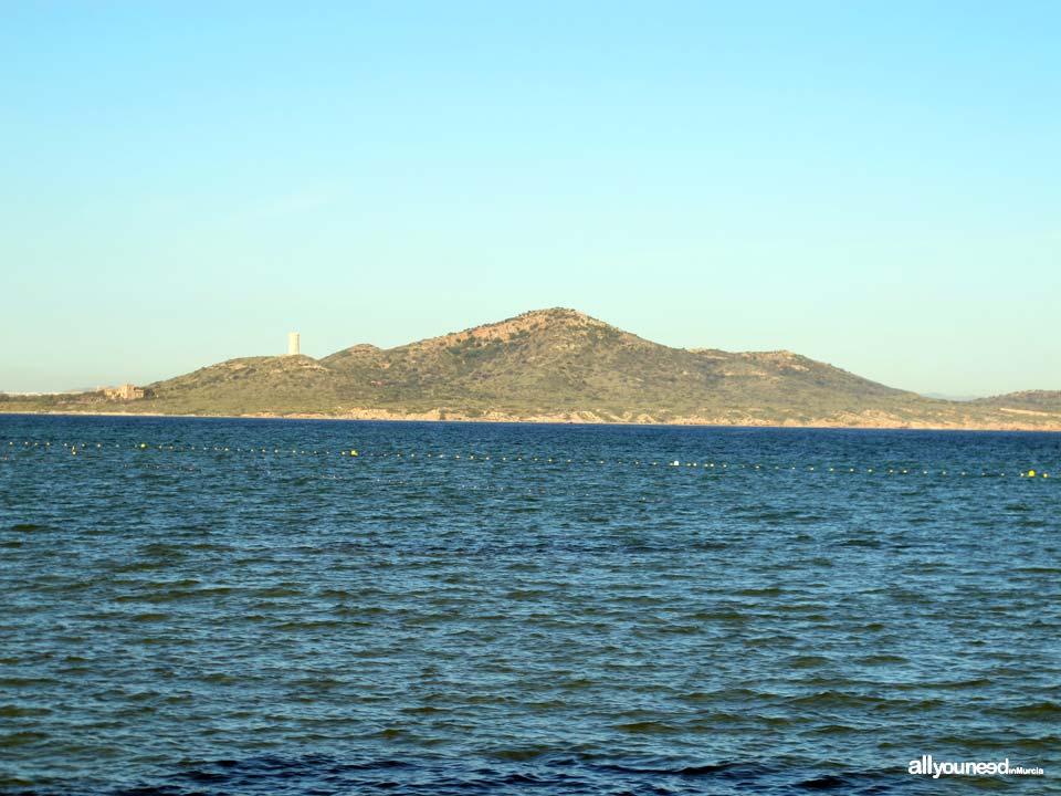 Isla del Barón en el Mar Menor