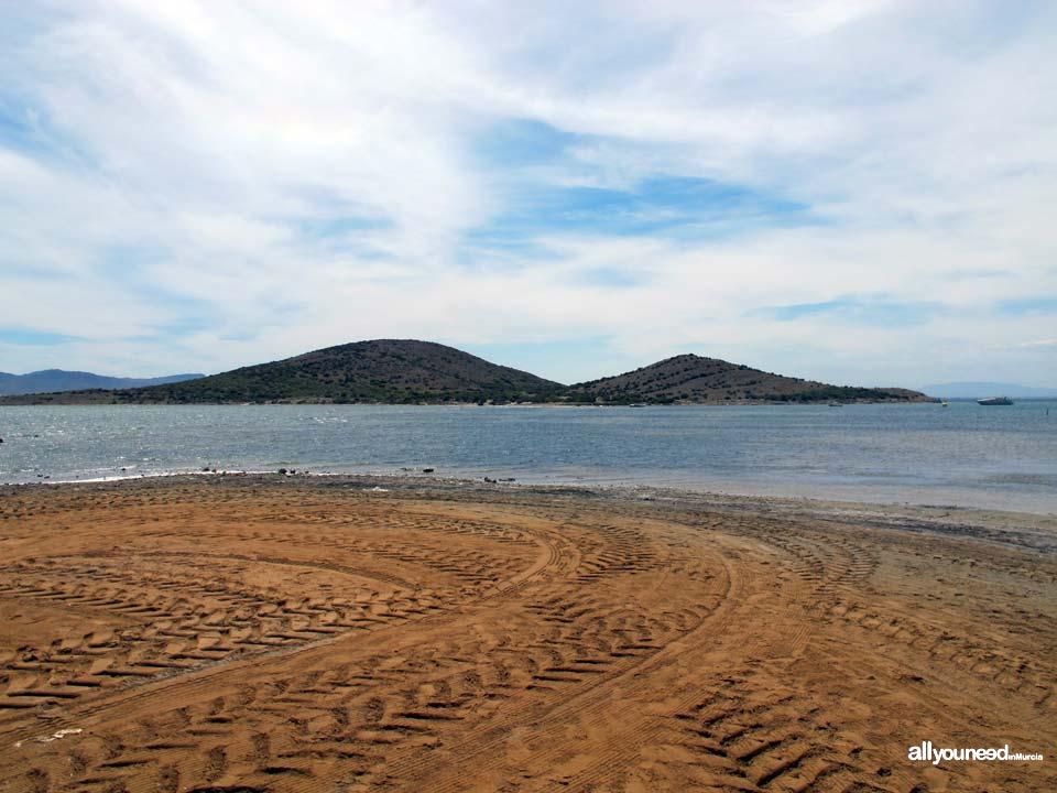 Isla del Ciervo en el Mar Menor