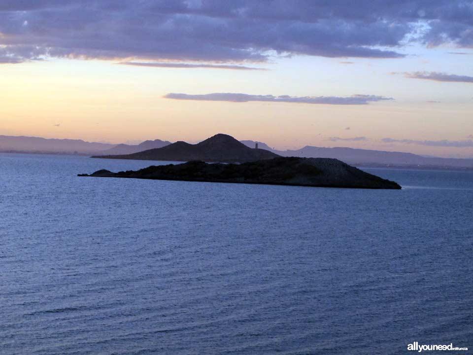 Sujeto Island in Mar Menor