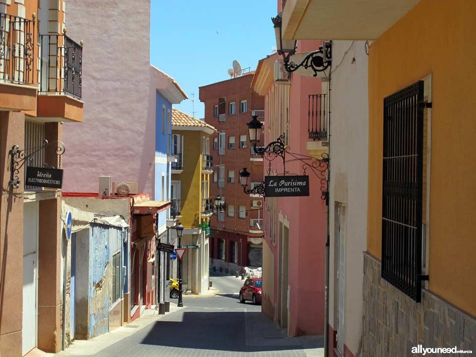Calle Escultor Salzillo