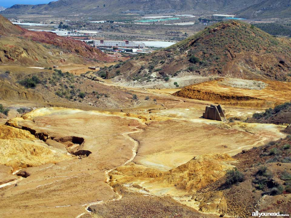 Paisaje Minero en Mazarrón