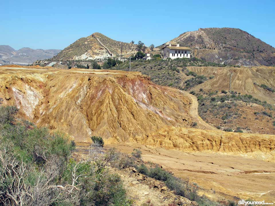 Mining Landscape in Mazarrón