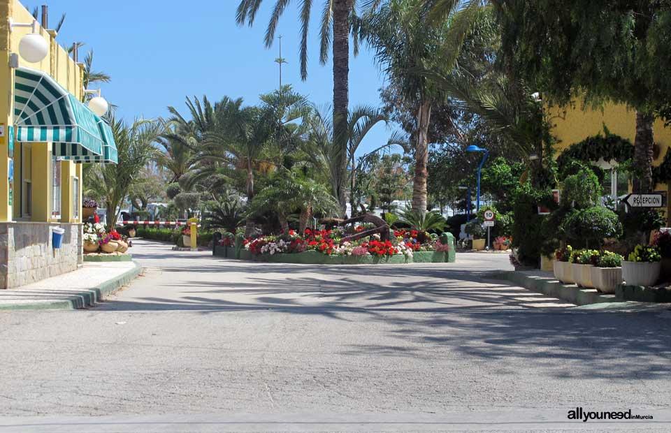 Camping Playa de Mazarrón. Disfruta al aire libre.