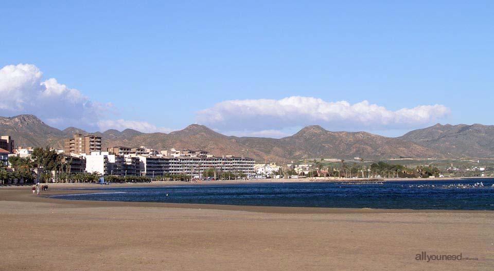 Playa Puerto de Mazarrón