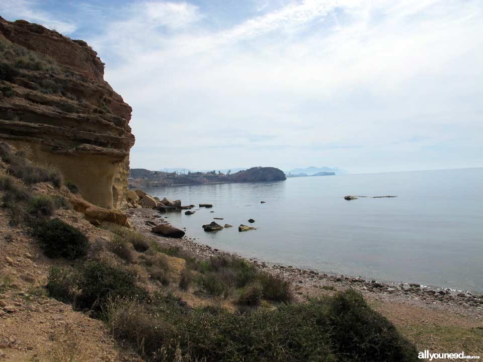 Playa Amarilla (playa de la Puñeta). Mazarrón